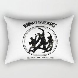 manhattan newsies Rectangular Pillow