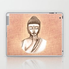 Buddha Shh.. Do not disturb - Colored version Laptop & iPad Skin