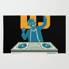 DJ Disc Jockey Disco Music Gift Shirt Rug