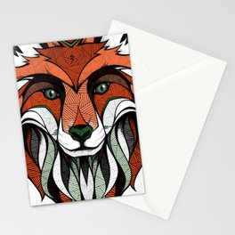 Fox // Colored Stationery Cards