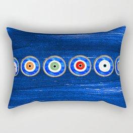 No Room For Evil Rectangular Pillow