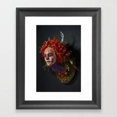 Summer Muertita Side Framed Art Print