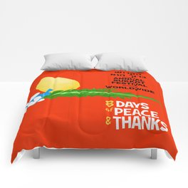 Sukkot Poster Comforters