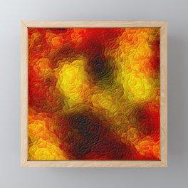 The sky behind the glass 3 Framed Mini Art Print