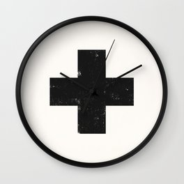 Ski Patrol Sign Wall Clock