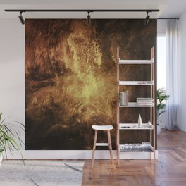 The Burning Wall Mural