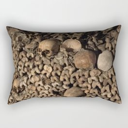 We Are All the Same in the End Rectangular Pillow