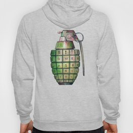 Your Keyboard is your weapon Grenade Hoody