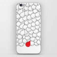 FOLLOW ME FOLLOW YOU iPhone & iPod Skin