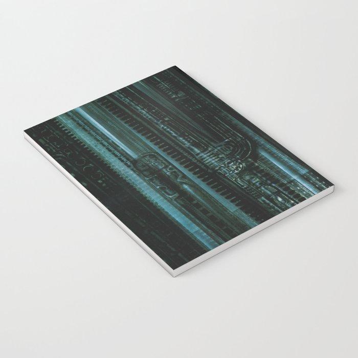 HR Giger Textures Notebook