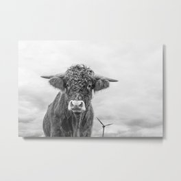Size Is Relative Metal Print