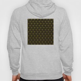 Art Deco Vintage-Retro Gold and Black Pattern Hoody