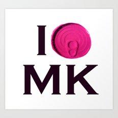 I 'Tin' Matthew kel Art Print