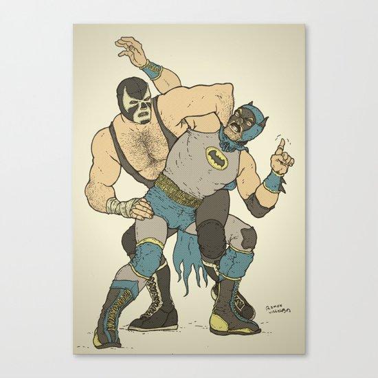 Dark Knight Rises Canvas Print