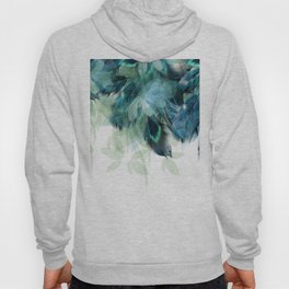DREAMY FEATHERS & LEAVES Hoody