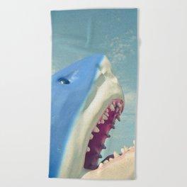 Shark! Beach Towel
