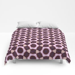 Light Pink Pattern Comforters
