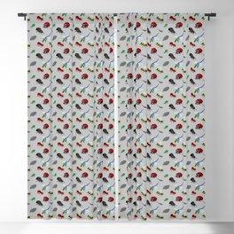 Bichos (Bugs) in pixels Blackout Curtain