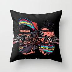 Bass Brothers Throw Pillow