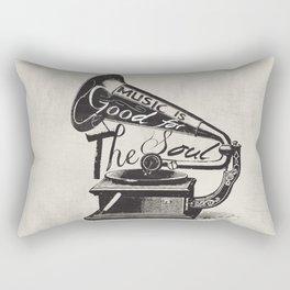 Good For The Soul Rectangular Pillow