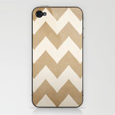 Biscotti & Vanilla - Beige Chevron iPhone & iPod Skin