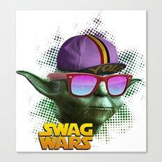 Yoda Swag Canvas Print