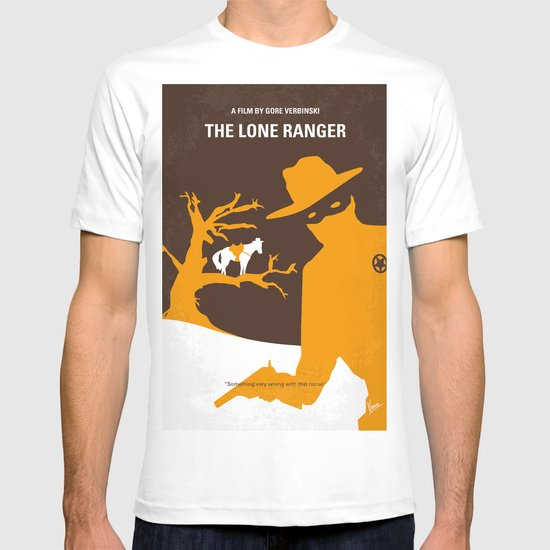No202 My The Lone Ranger minimal movie poster T-shirt