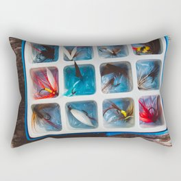 Fly Collection Rectangular Pillow