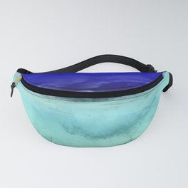 Midnight Waves Seascape Fanny Pack