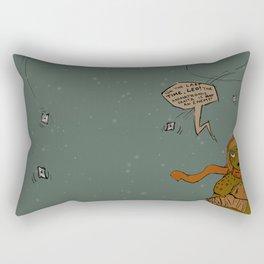 Jolly St. Ninja Rectangular Pillow