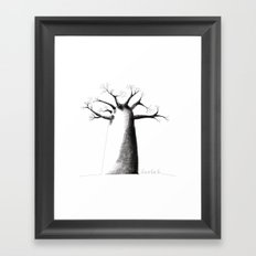 Baobab Framed Art Print