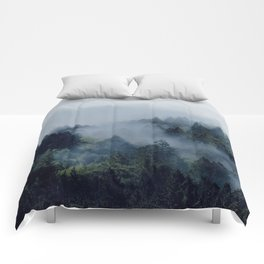 End in fire Comforters