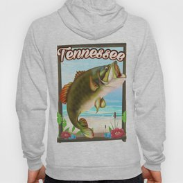 Tennessee fishing poster Hoody