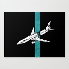Flight 815 Canvas Print