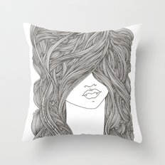 Bite Throw Pillow