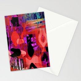 social outcast Stationery Cards
