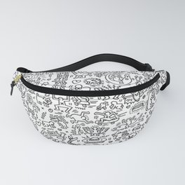 THE FUN WOLRD of KEITH HARRING Fanny Pack