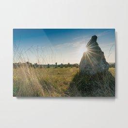 Menhirs de Lagatjar 2 Metal Print