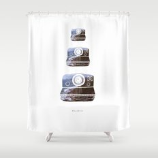 Polaroid Shower Curtain