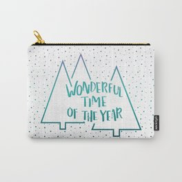 It's The Most #society6 #xmas Carry-All Pouch