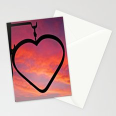 Love Sunset Stationery Cards