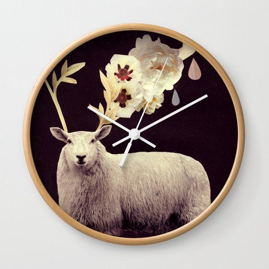 i find you hidden there Wall Clock