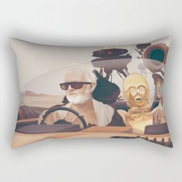 Fear and Loathing on Tatooine Rectangular Pillow