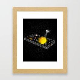 Universal Remote Framed Art Print