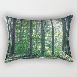 into the woods 12 Rectangular Pillow