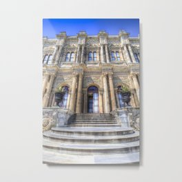 Dolmabahce Palace Istanbul Metal Print