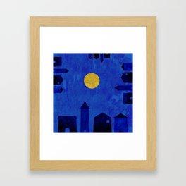 The same sky Framed Art Print
