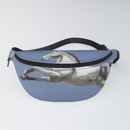 Escaped carousel horse Fanny Pack