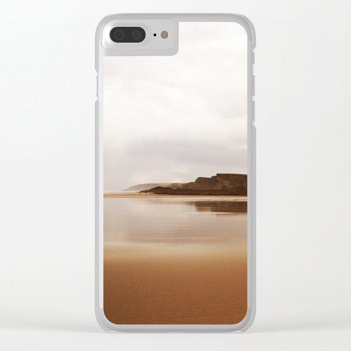 Sea 6 Clear iPhone Case