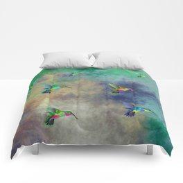 Secret Escape Hummingbird Design Comforters